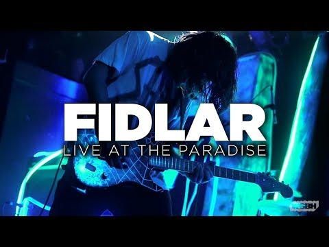 FIDLAR – Live at The Paradise (Full Set) | Front Row Boston