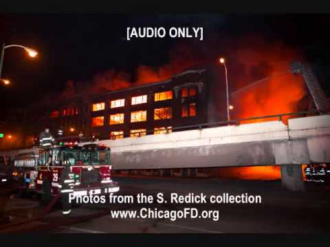 Chicago Fire Dept. 3757 S. Ashland 5-11 Alarm + 2 Specials  1-22-13 AUDIO ONLY