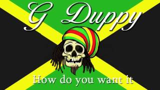 2Pac   How do you want it (G Duppy Reggae Remix)