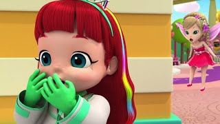Rainbow Ruby - Tummy Trouble - Full Episode 🌈 Toys and Songs 🎵