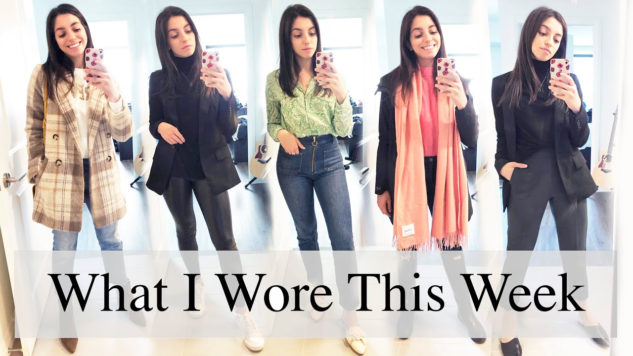 [VIDEO] - What I Wore This Week   Fall Outfit Ideas ft. Aritzia & Zara 8