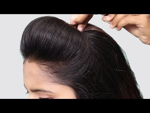 4 Easy Puff Hairstyles | Perfect Puff Hairstyle | Quick Hairstyles for Medium Thin Hair thumbnail