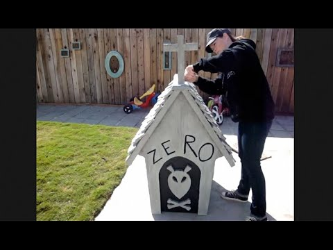 DIY Zero Dog House Nightmare Before Christmas