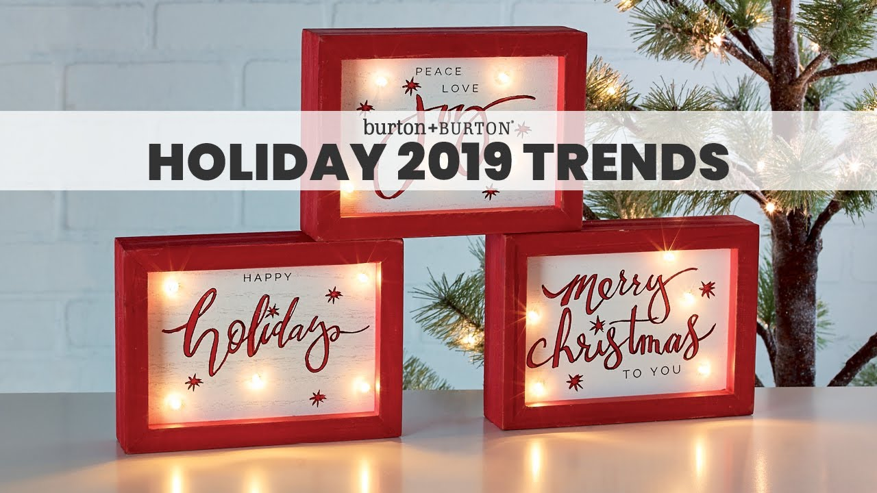 Holiday Christmas Trends 2019.Holiday 2019 Trends