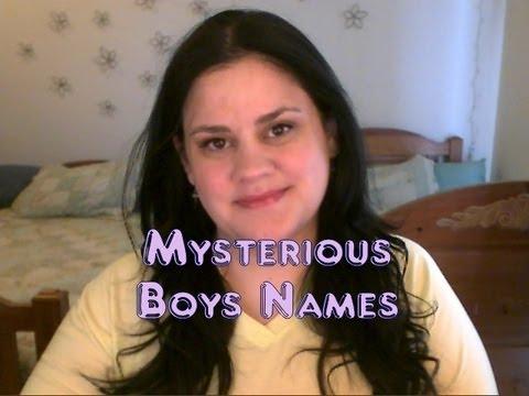 Mysterious Boys Names