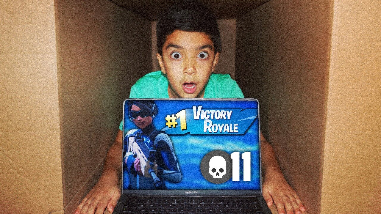 mailing-my-5-year-old-little-brother-in-a-cardboard-box-while-playing-fortnite-mailing-challenge