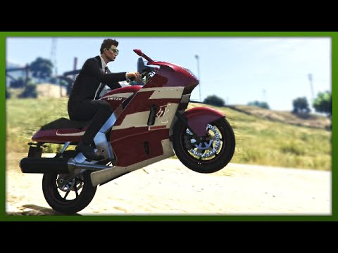 GTA 5 Stunts - Awesome Hakuchou Stunt! - (GTA V Stunts & Fails)