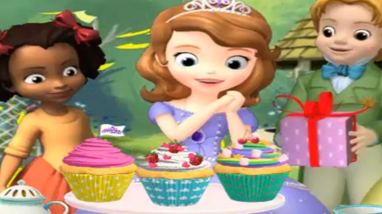 SOFIA THE FIRST Princess Sofias Cupcake Party New English