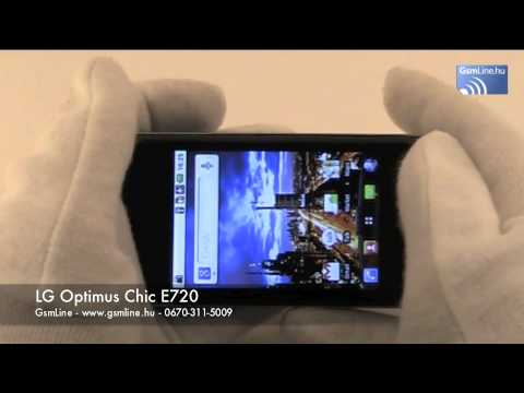LG Optimus Chic bemutató | www.GsmLine.hu