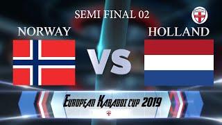Norway Vs Holland 2nd Semi Final