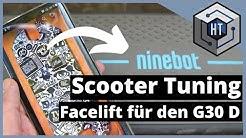 """Ninebot / Segway G30D Max """"Tuning"""" - Coole Boards als Zubehör für deinen E-Scooter"""