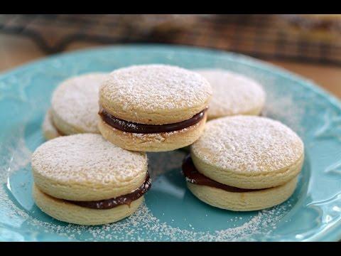 Alfajores Recipe   How To Make Cornstarch Cookie Sandwiches   SyS