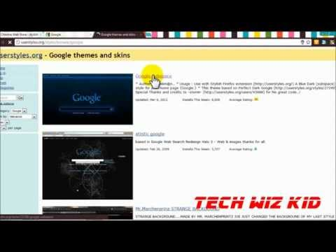 Tip: How To Install Stylish Themes In Google Chrome