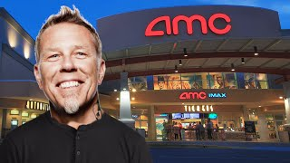 James Hetfield can't stop screaming in the movie theater [ASMR]