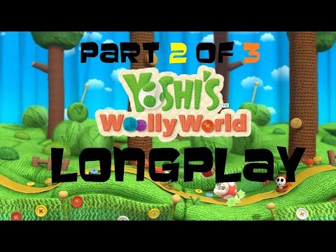 Nintendo Wii U Longplay [004] Yoshi's Woolly World (Part 2 of 3)