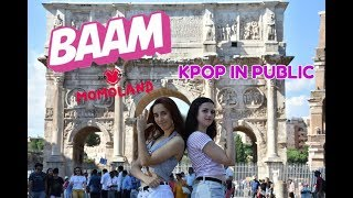 [KPOP IN PUBLIC CHALLENGE] BAAM - MOMOLAND (모모랜드) [1theK Dance Cover Contest] by E.M.M.Y of bla(x)²