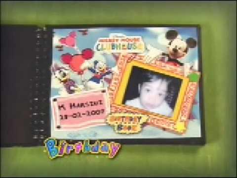 Playhouse Disney Birthday Book - Jade