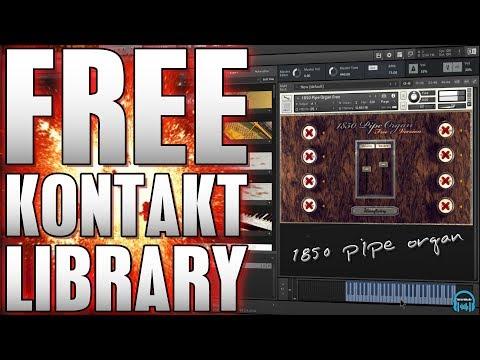 FREE KONTAKT LIBRARY | WAVESFACTORY 1850 Pipe Organ 🎹 - YouTube
