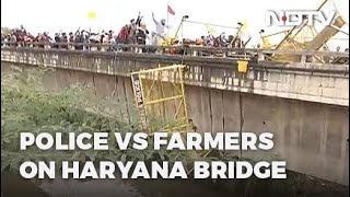 Farmers Protest: Farmers Marching To Delhi Enter Haryana, Get Past Tear Gas, Water Cannons