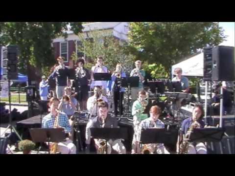 Newton North High School Jazz Ensemble Live at Newtonville 2016