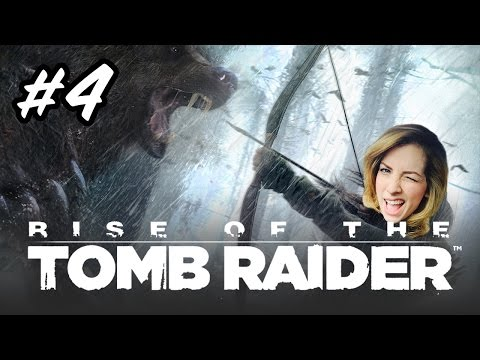 RISE OF THE TOMB RAIDER GAMEPLAY | Lets Play Ep 4 | Strawburry17Plays