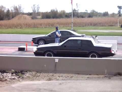 14 Buick Regal Turbo >> 1987 turbo-t (13.23 @ 109) vs supercharged 3800 buick regal gs (14.01@103) - YouTube
