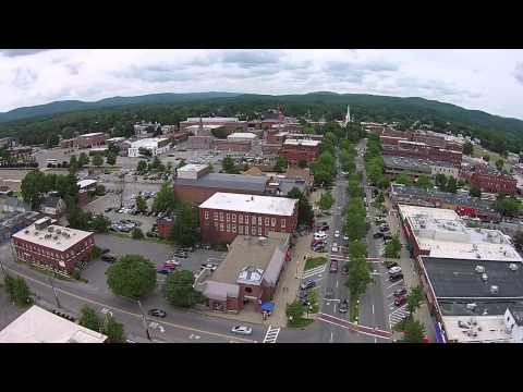 Quadcopter over Keene