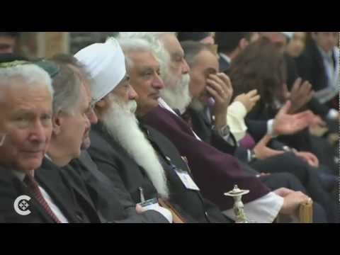Pope meets with religious leaders