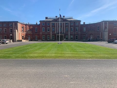 A look at the Defence Medical Rehabilitation Centre, at Stanford Hall.