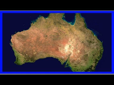 Australian continent shifts with the seasons