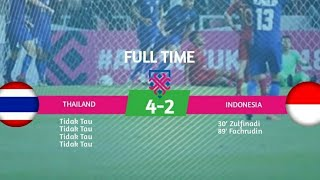 Thailand VS Indonesia AFF Suzuki Cup 2018 HD (Full Highlight)