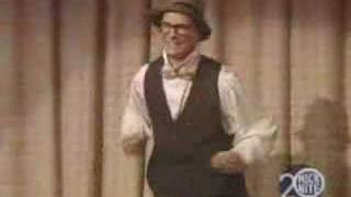 Bill Irwin clowns around