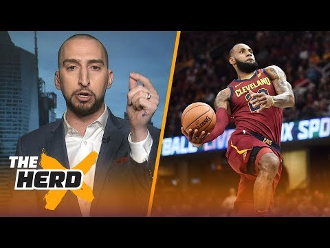 Nick Wright reveals why LeBron is the perfect uncle for Lonzo, Talks Patriots and more   THE HERD