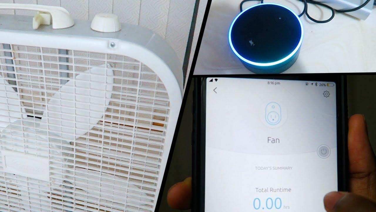 Turn Any Ordinary Fan Into A Smart Fan App Voice Control