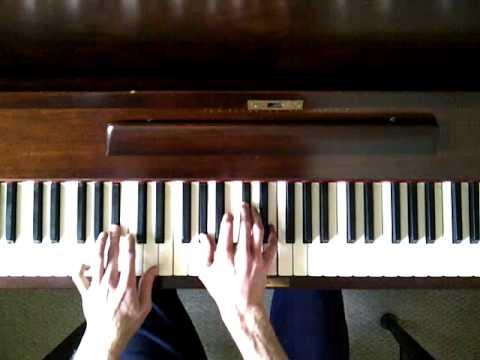 Do Ya - Da Boy Dame - Start of song on piano - G sharp minor