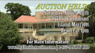 Luxury Waterfront Home Auction 49 High Point Road, Sewalls Point, Florida
