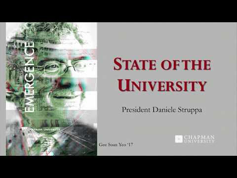 State of the University 2017