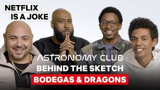 """Shawtane Bowen Was Iffy About Stereotypes In The """"Bodegas & Dragons"""" Sketch 