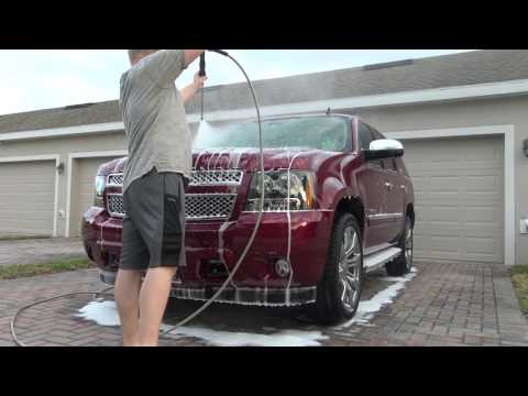 Touchless wash 2009 Chevy Tahoe