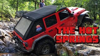 We CONQUER ARKANSAS HOT SPRINGS in Our Jeep Wrangler JLU Rubicon!