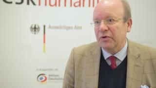 #CSRhumanitär | Michael Rabbow beim Dialogforum in Frankfurt