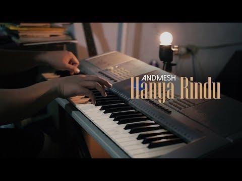 Peaceful Piano + Lyrics - HANYA RINDU - Andmesh