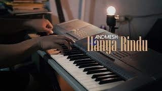 Peaceful Piano + Lyrics - HANYA RINDU - Andmesh
