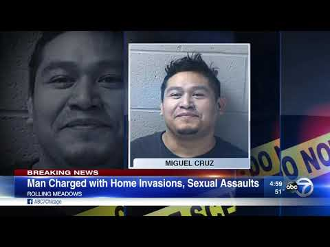 Man charged in 3 Rolling Meadows sex assaults, home invasions