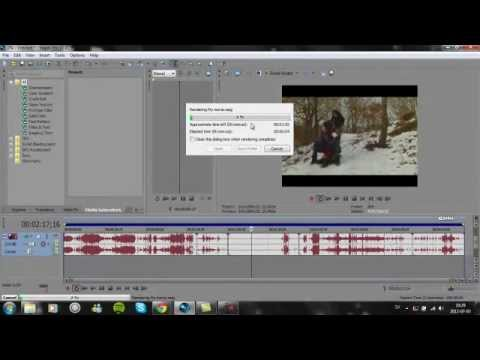 sony vegas pro 11 lesson 2 how to render your movie
