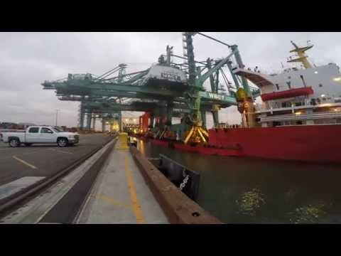 Port of Los Angeles: WBCT Crane Arrival