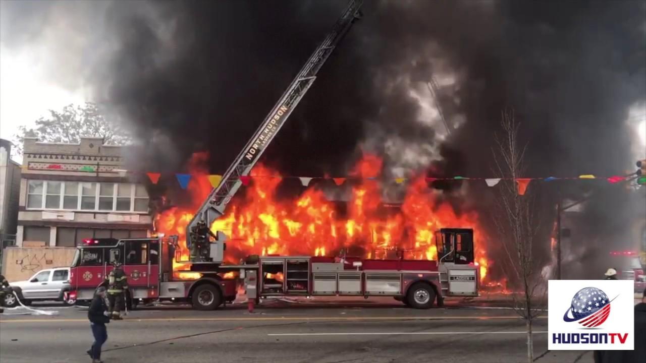 Breaking News: 4th Alarm Fire In North Bergen, Mattress