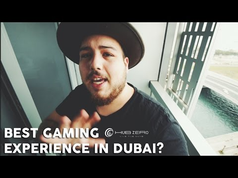 HUB ZERO in Dubai, coolest GAMING experience ever?
