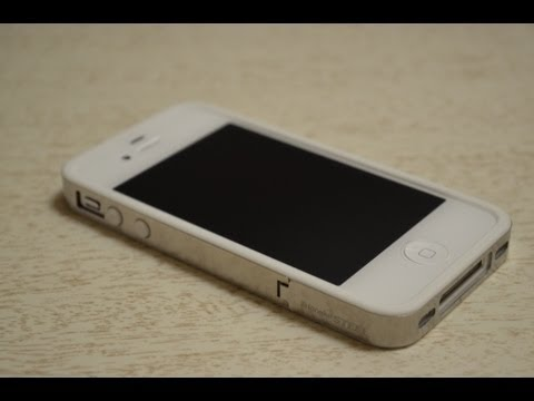 Rearth Stainless Steel Hybrid Bumper Case - iPhone 4S - Indepth Review / Installation