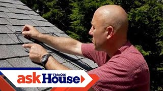 How to Install Ice-Melting Roof Cables